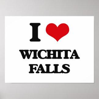 I love Wichita Falls Print