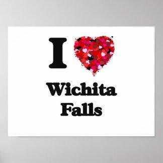 I love Wichita Falls Texas Poster