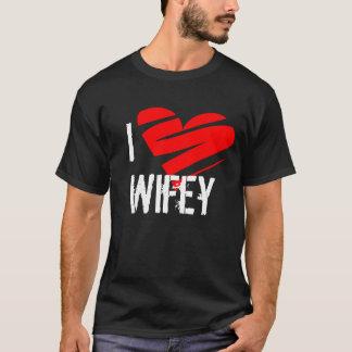 I Love Wifey, wifey, heart, shirt, love, gift T-Shirt