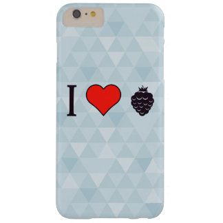 I Love Wild Berries Barely There iPhone 6 Plus Case