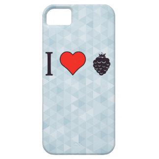 I Love Wild Berries iPhone 5 Case