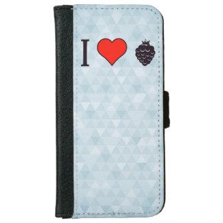 I Love Wild Berries iPhone 6 Wallet Case