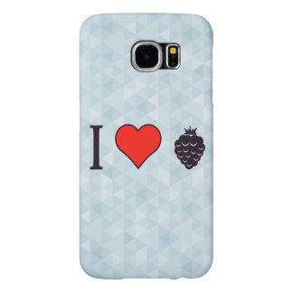 I Love Wild Berries Samsung Galaxy S6 Cases