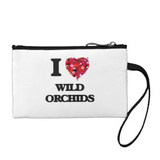I love Wild Orchids Coin Purse