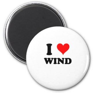 I Love Wind Magnet