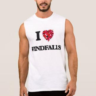 I love Windfalls Sleeveless T-shirts