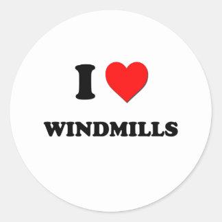 I love Windmills Sticker