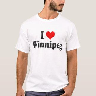 I Love Winnipeg, Canada T-Shirt
