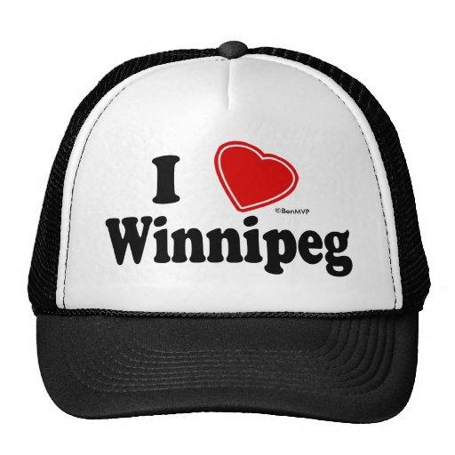 I Love Winnipeg Mesh Hat