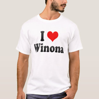 I Love Winona, United States T-Shirt