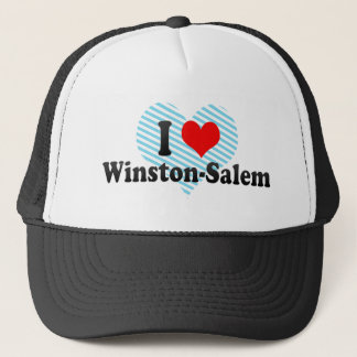 I Love Winston-Salem, United States Trucker Hat