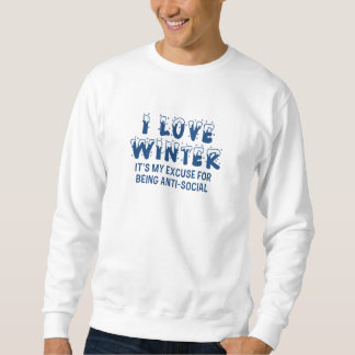 I Love Winter Sweatshirt