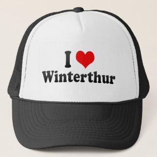 I Love Winterthur, Switzerland Trucker Hat