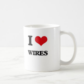 I Love Wires Coffee Mug