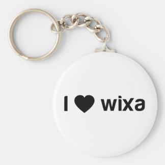 I Love Wixa Keychain