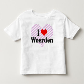 I Love Woerden, Netherlands T-shirts