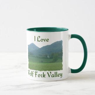I Love Wolf Fork Valley Mug