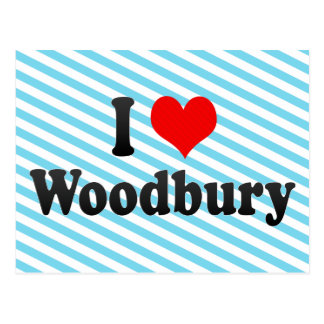 I Love Woodbury, United States Postcard