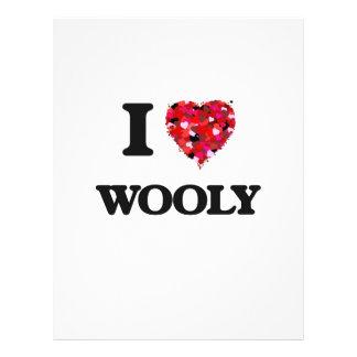 I love Wooly Flyer Design