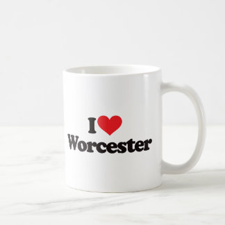 I Love Worcester Coffee Mug