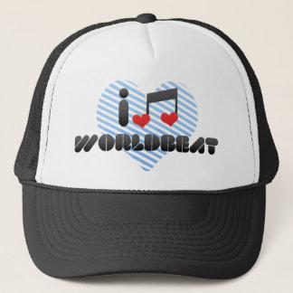I Love Worldbeat Trucker Hat