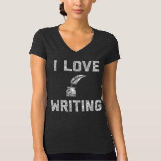 I Love Writing Women's V-Neck T-Shirt