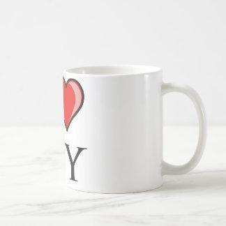 I Love WY - Wyoming Coffee Mug