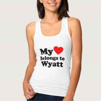 I love Wyatt Tank Top