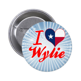 I Love Wylie, Texas 2 Inch Round Button