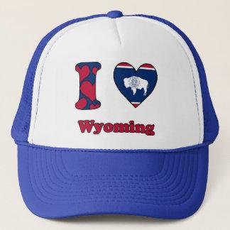 I love Wyoming Trucker Hat