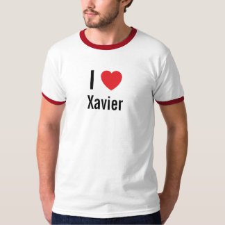 I love Xavier T-Shirt