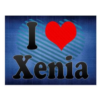 I Love Xenia, United States Postcard