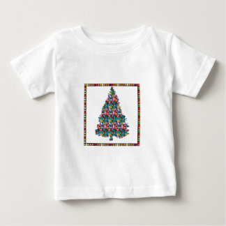 I LOVE XMAS : TREE jadded with PEARL JEWEL GEMS Tshirts