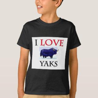 I Love Yaks T-Shirt