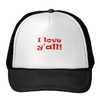 I Love Yall Trucker Hat