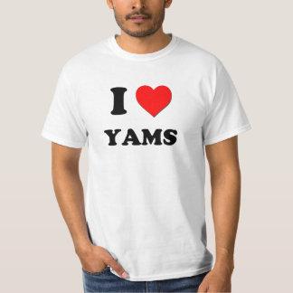I love Yams T-Shirt