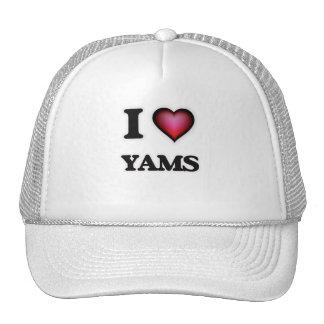 I Love Yams Trucker Hat
