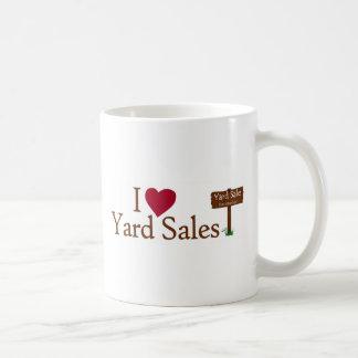I Love Yard Sales Coffee Mugs