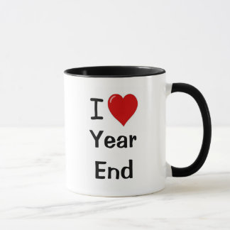 I Love Year End - I Heart Year End Mug