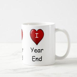 I Love Year end Triple-sided Mugs