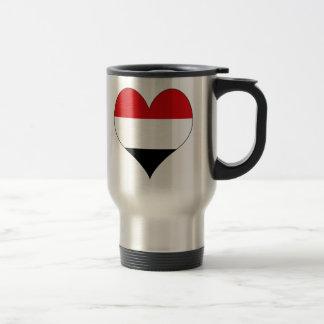I Love Yemen Travel Mug
