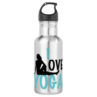 I Love Yoga 532 Ml Water Bottle