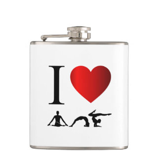 I love yoga and meditation flask