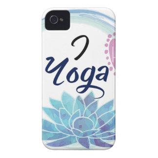 I Love Yoga Art Case-Mate iPhone 4 Case