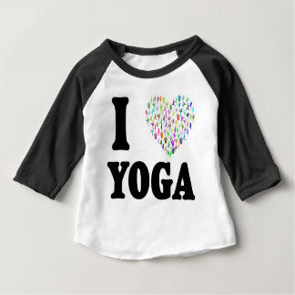 I Love Yoga Baby T-Shirt