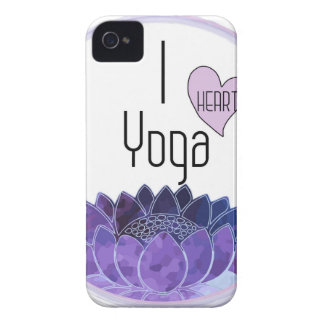 I Love Yoga iPhone 4 Cases