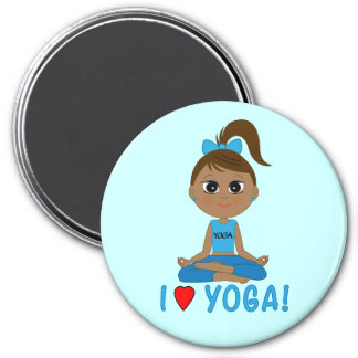 I Love Yoga! Magnet