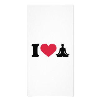I love Yoga Photo Card