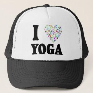 I Love Yoga Trucker Hat