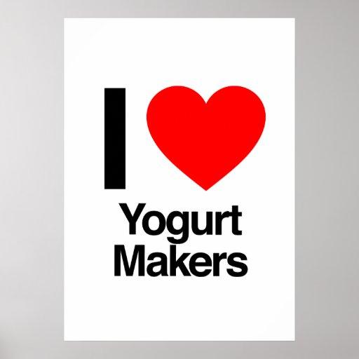 i love yogurt makers print